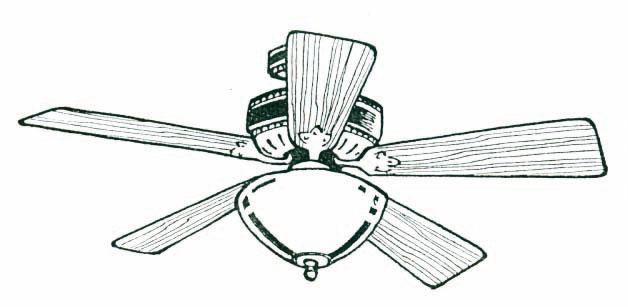 Ceiling Fan Clip Art : Ceiling fan clipart kid