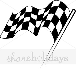 Checkered Flag Clipart   Party Clipart   Backgrounds