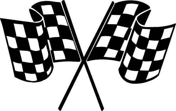 Clip Art Racing Clipart racing flags clipart kid checkered clip art at clker com vector online