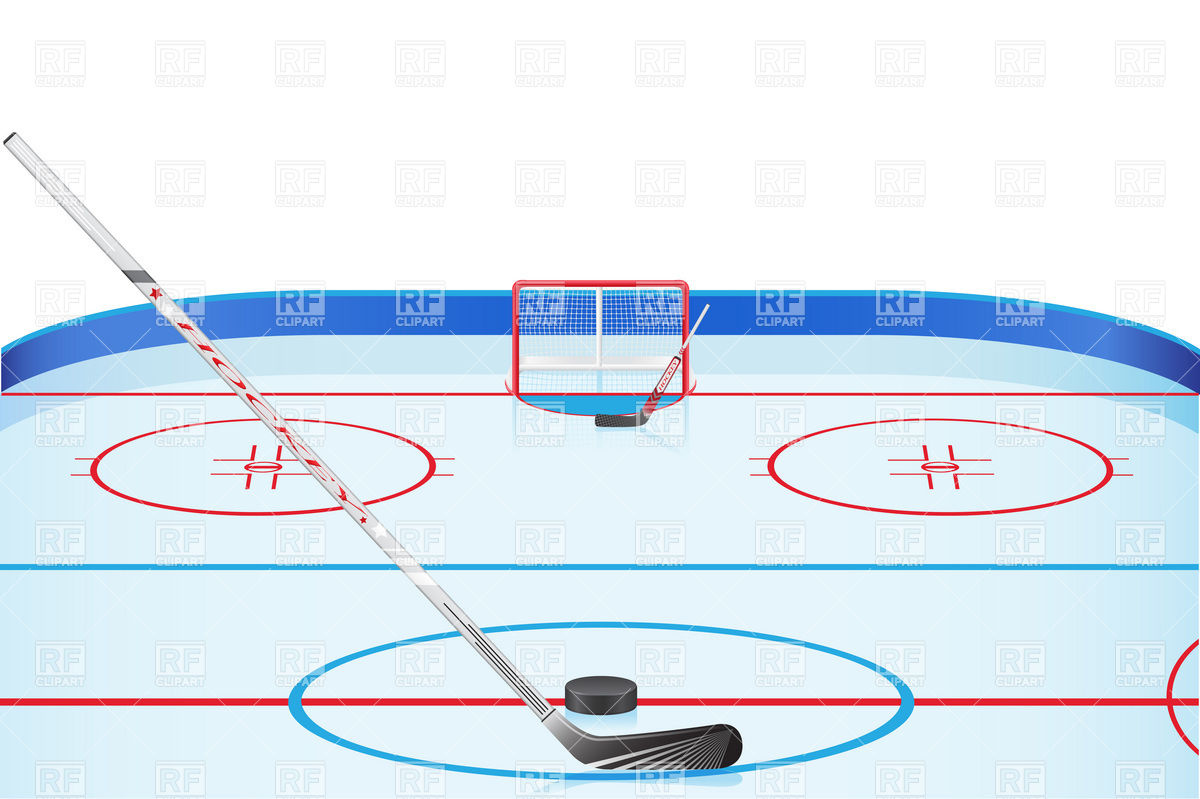 Empty Ice Skating Rink Clip Art Hockey Stadium Download