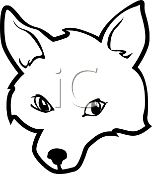 Fox Head Outline Fox Face Outline Tnb Png