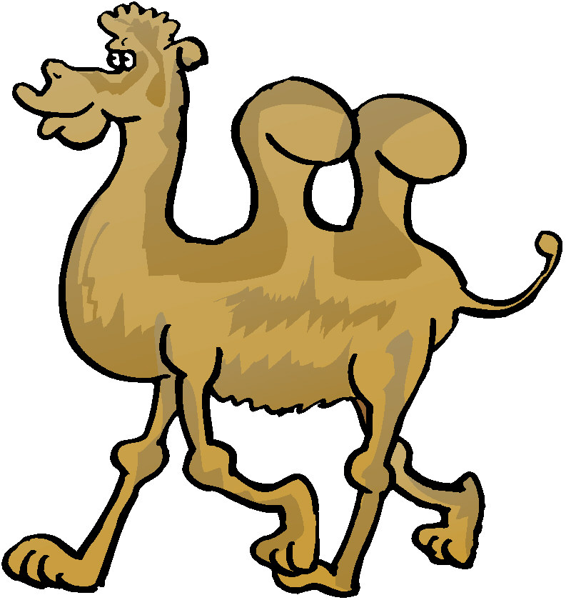 Funny Camel Cartoon Stock Vector Clipart Vector Illustration Of Funny
