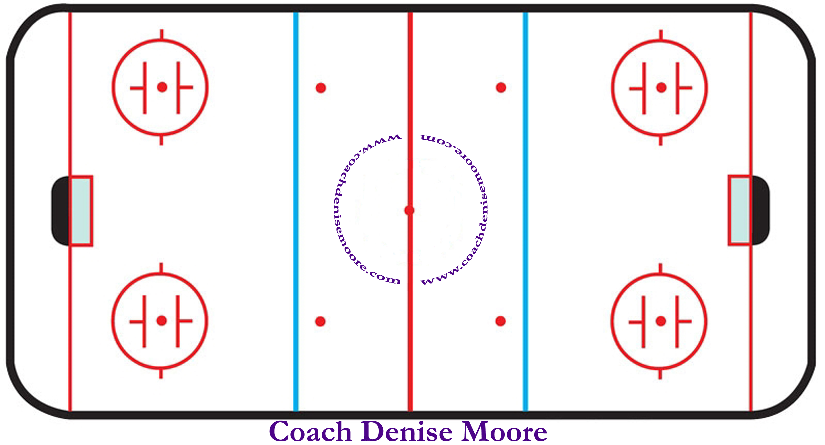 Hockey Rink Clipart - Clipart Kid
