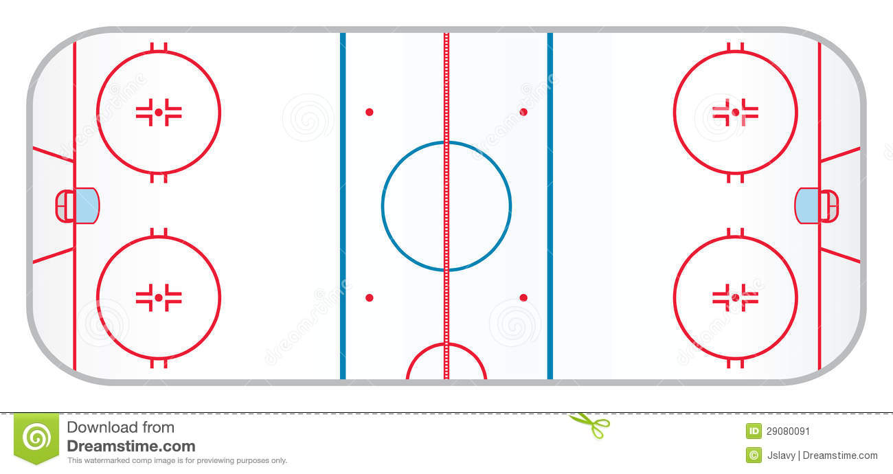 Hockey Rink Stock Image   Image  29080091