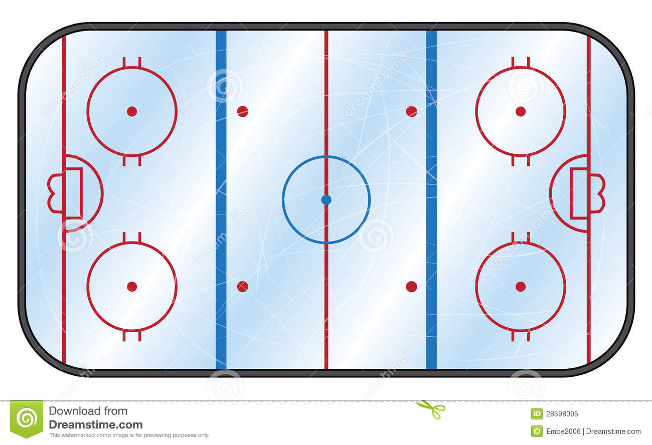Ice Rink Clip Art Http   Jobspapa Com Hockey Rink Stock Vector And