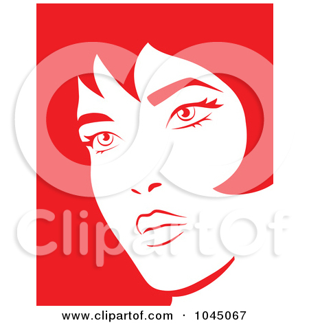 Women Crying Faces Clipart
