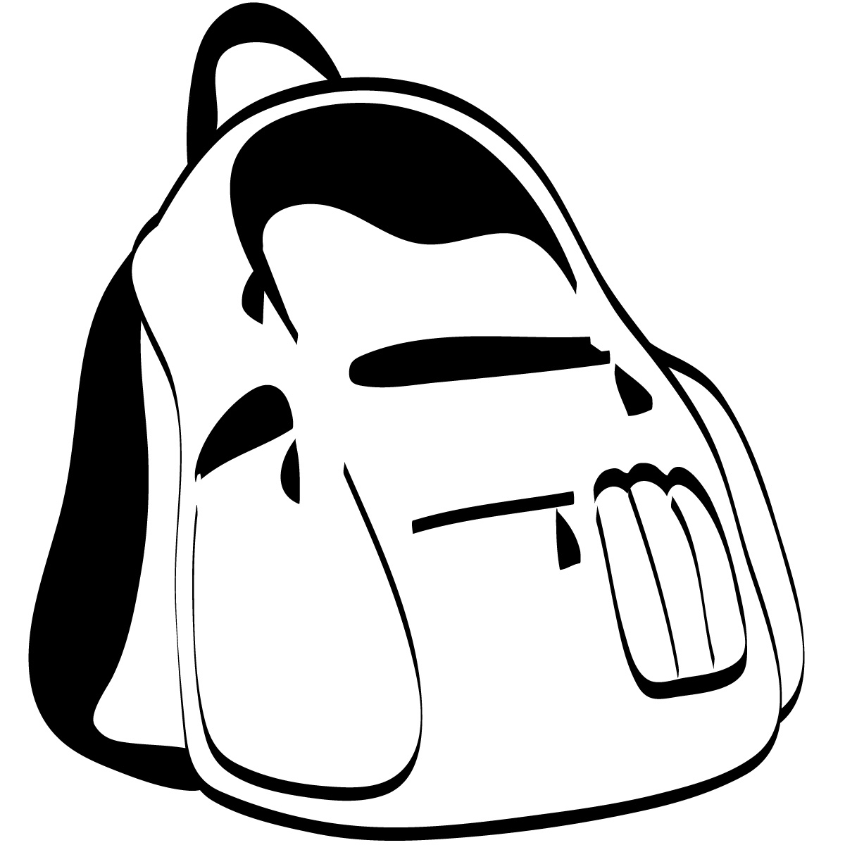 Bag Clipart Black And White   Clipart Panda   Free Clipart Images