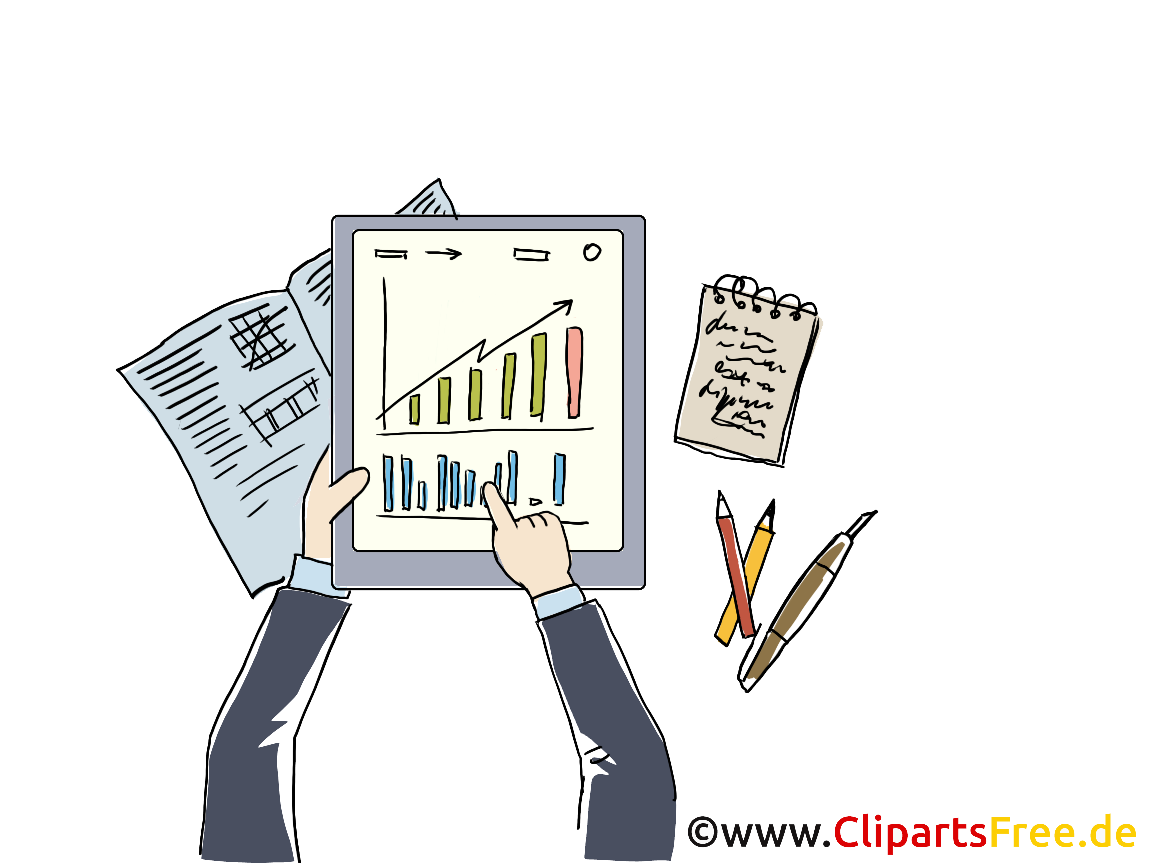 Bildtitel  Job Clipart Grafik Bild Cartoon