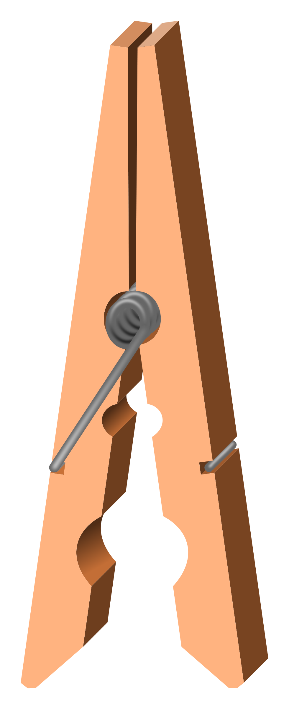 Clothes Pin Clipart - Clipart Suggest