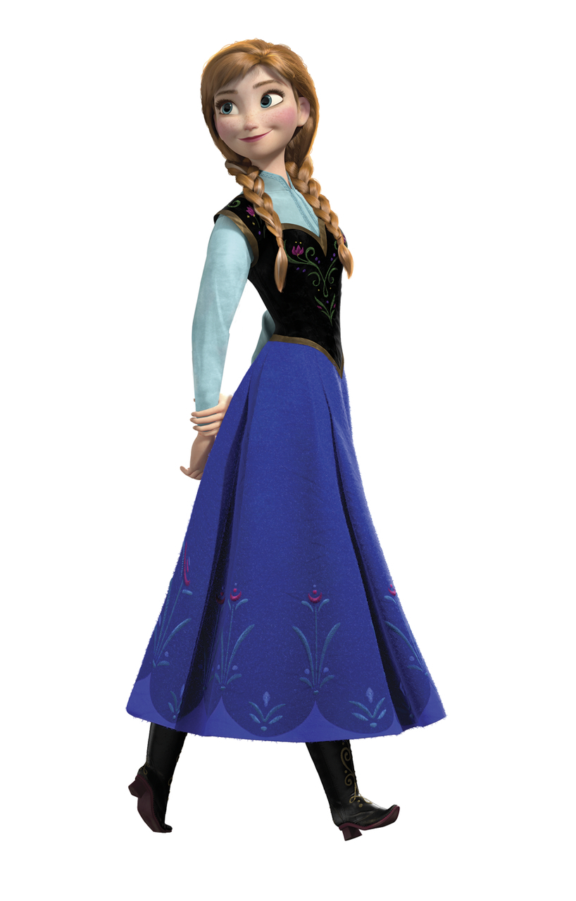 Disney Frozen Anna Transparent Imagem Frozen Disney Anna