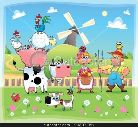 Farm Family Clipart - Clipart Suggest