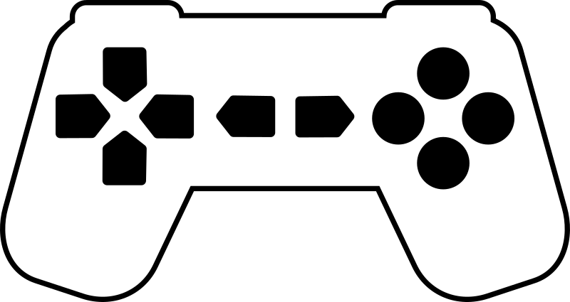 Xbox Controller Outline Clipart Clipart Suggest