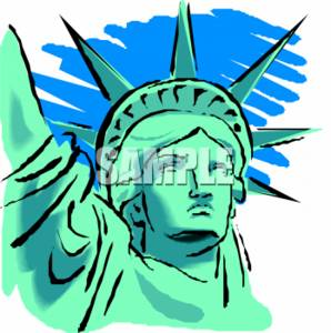 Graphic Statue Of Liberty Free