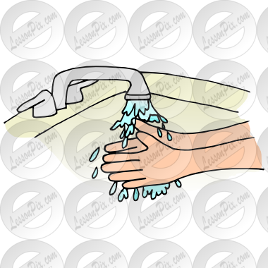 Hands Picture For Classroom   Therapy Use   Great Wash Hands Clipart