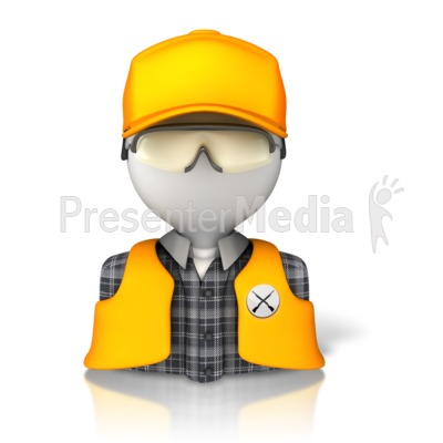 Hunter Bust Icon   Presentation Clipart   Great Clipart For