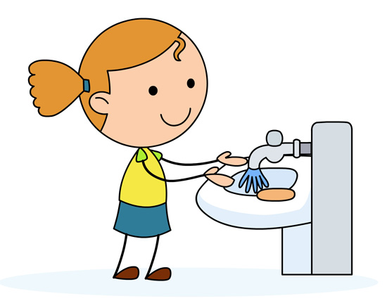 Clip Art Hand Washing Clipart washing hands clipart kid rinse clip art girl in a sink