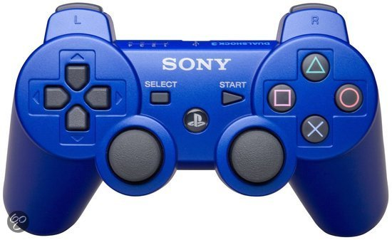Sony Playstation 3 Wireless Dualshock 3 Controller   Blauw Ps3