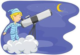 Star Gazing Illustrations And Clipart