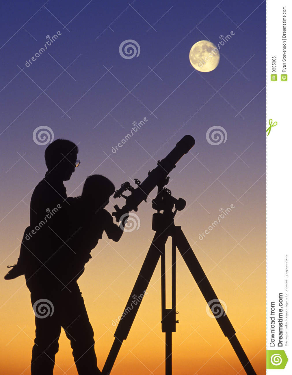 Star Gazing Royalty Free Stock Image   Image  9335006