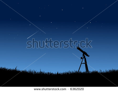Stargazing Clipart Star Gazing With Falling Star