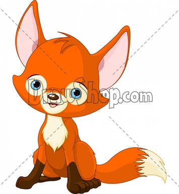 Cartoon Fox Clipart Clipart Suggest