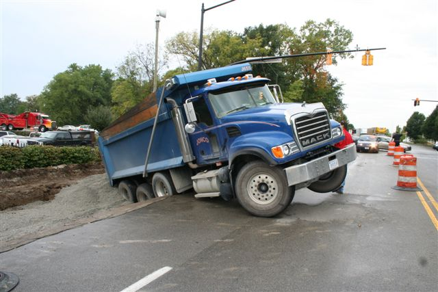 Blog About Big Rigs By The Insurance Diva  Dump Truck Thief Goes On