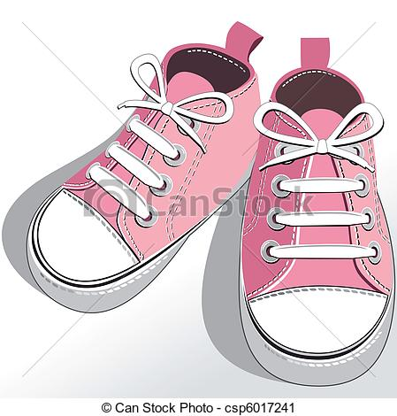 Childrens Or Young Adult Shoes Pair Kids Sneaker Pink Girls Shoes