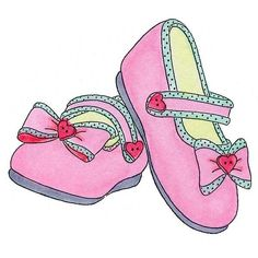 E757 More Baby Girls Shoes Girls Generation Shoes Places Clipart Shoes