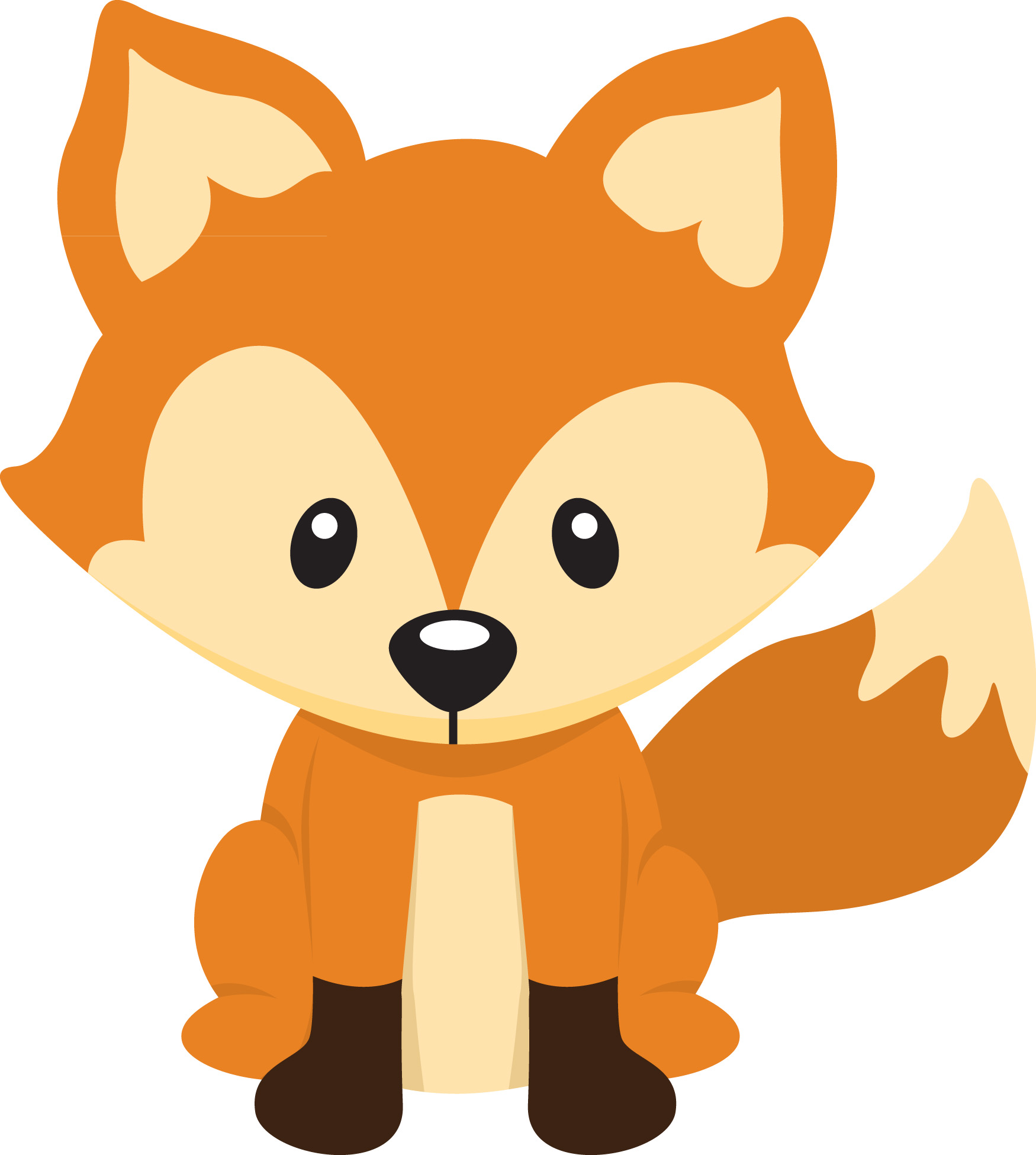 cartoon clipart of a fox - photo #9