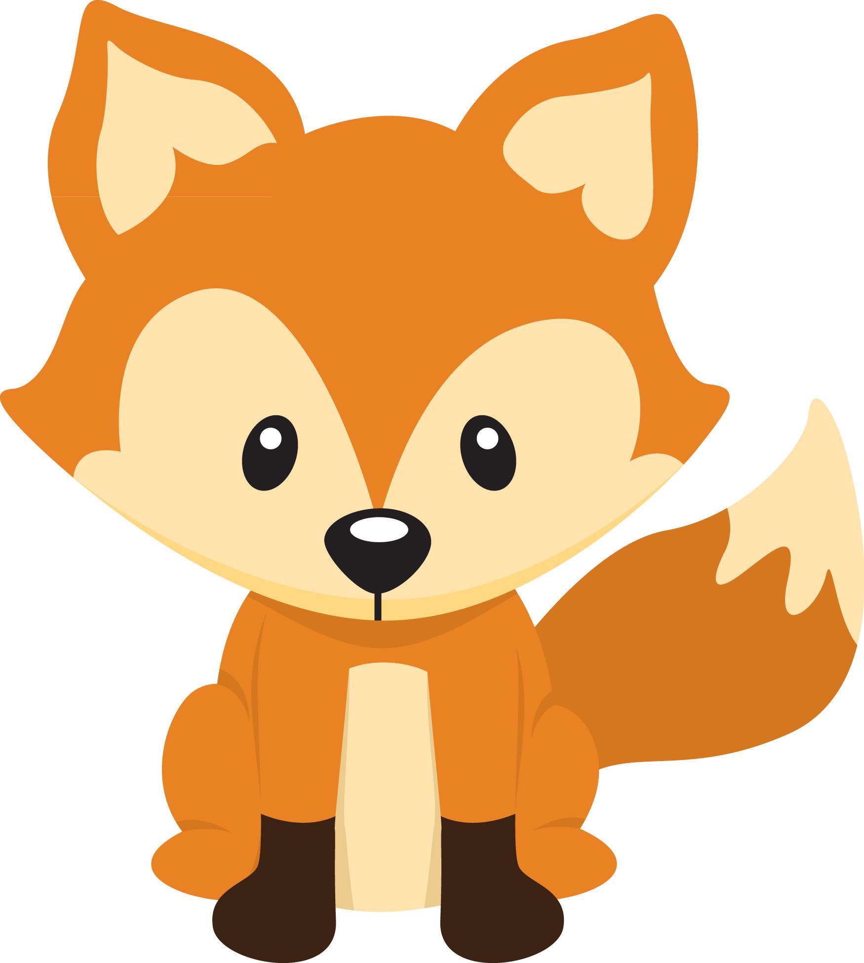 cartoon clipart of a fox - photo #9