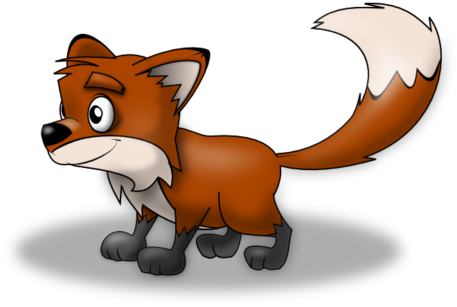 Free Cartoon Fox Clip Art
