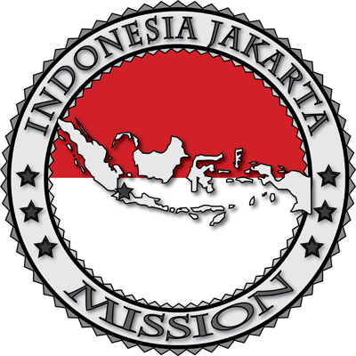 Latter Day Clip Art   Indonesia Jakarta Lds Mission Flag Cutout Map 2