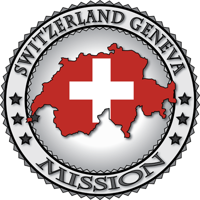 Latter Day Clip Art   Switzerland Geneva Lds Mission Flag Cutout Map