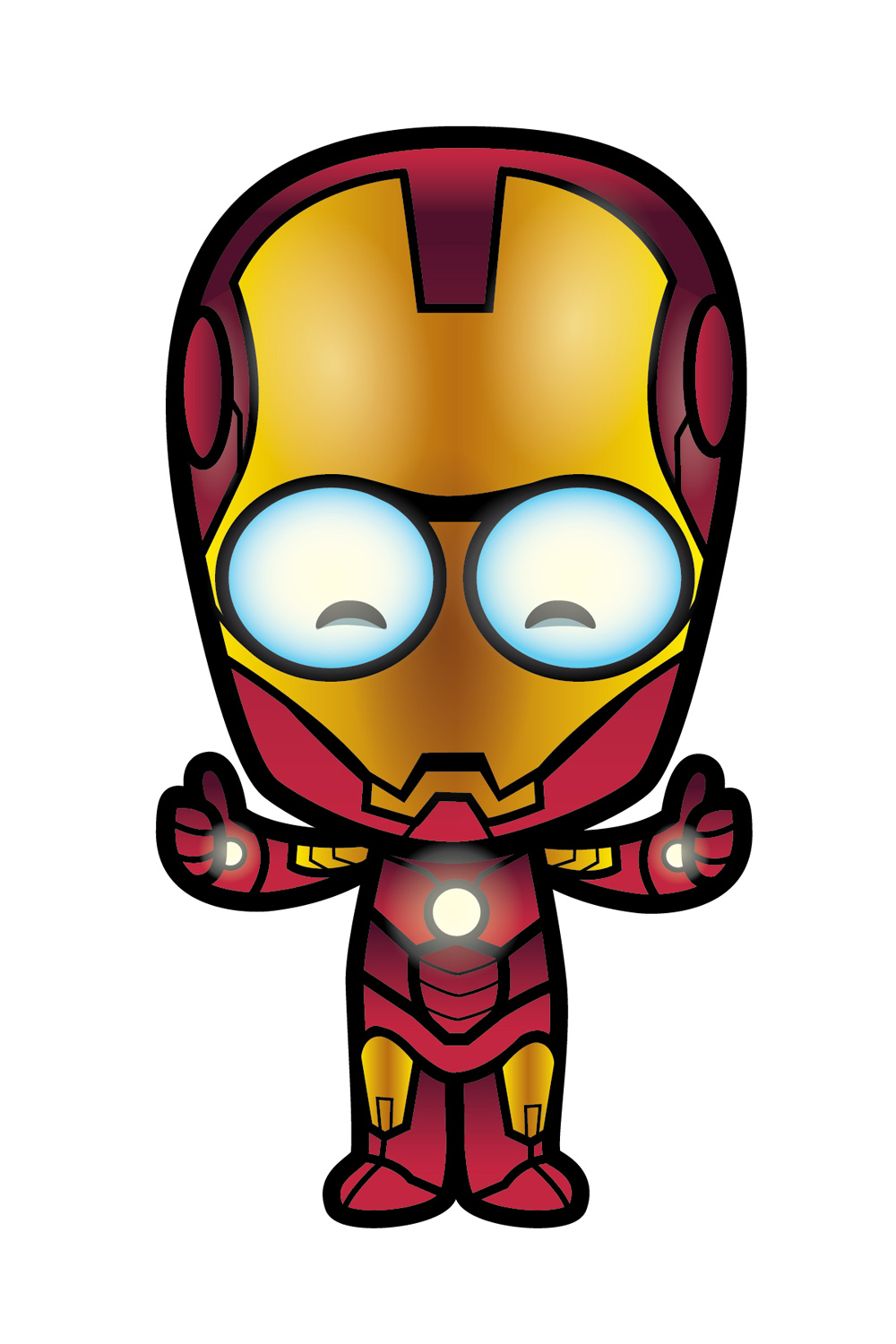 Lil Oishi As Iron Man As He Gets Ready For The Avengers  Created By