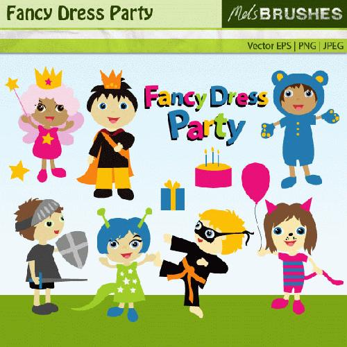 My Grafico  Fancy Dress Party Clipart