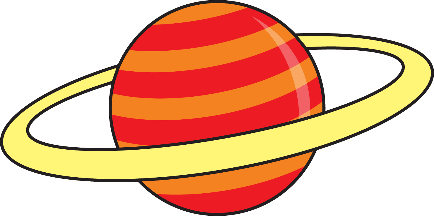 Cute Saturn Clipart - Clipart Kid