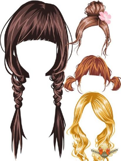 Photoshop Hair Psd Images Wig Style Psd Free
