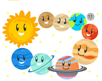 the 9 planets clip art - photo #23