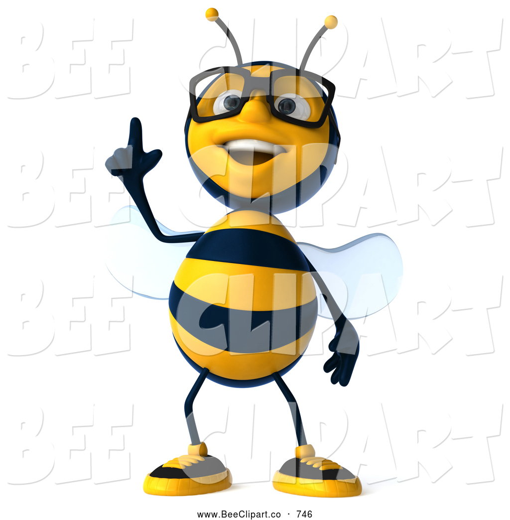 Related Pictures Bee Cartoon Clipart Cute Bumble Queen