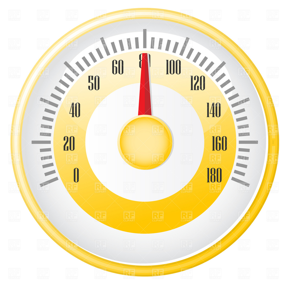 Retro Speedometer 1783 Technology Download Free Vector Clip Art