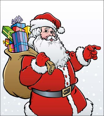 Santa Claus Fancy Dress Clipart