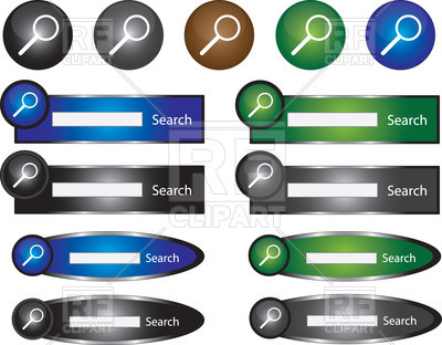 Search Bar Designs 34677 Download Royalty Free Vector Clipart  Eps