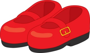 Girls Shoes Clipart - ...