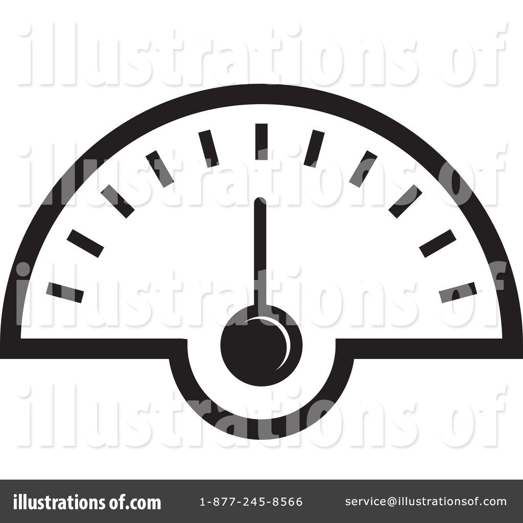 Speedometer Clipart  1242517   Illustration By Lal Perera