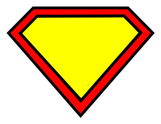 Superman Logo Blank   Flickr   Photo Sharing