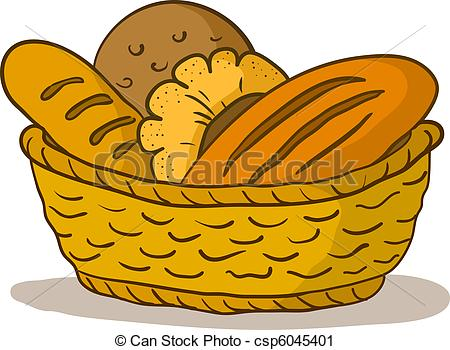 Bread Loafs And Rolls    Csp6045401   Search Clipart Illustration