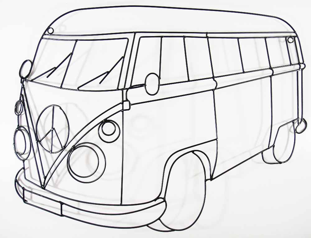 Camper Outline Vw Camper Van Outline Jo7uhi Clipart Kid