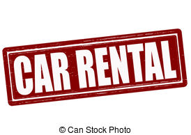 Car Rental   Stamp With Text Car Rental Inside Vector