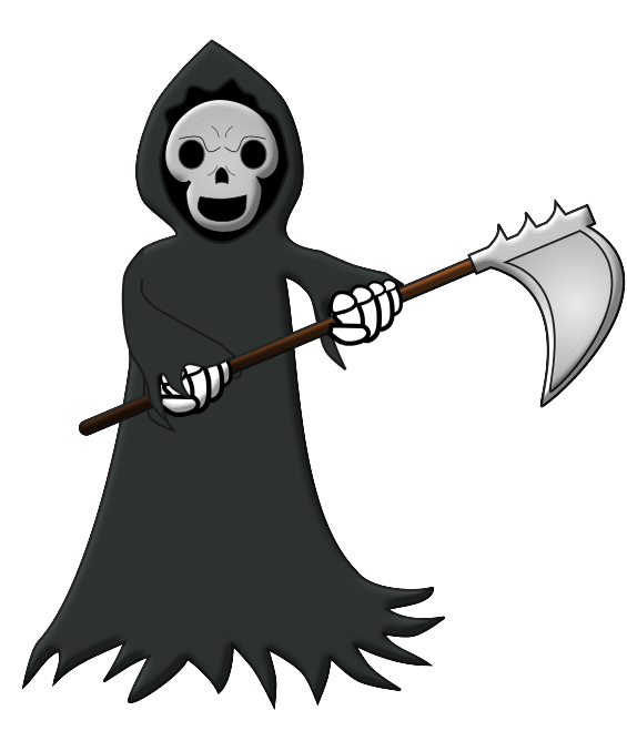 Cartoon Grim Reaper Clipart Images   Pictures   Becuo