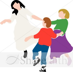 Circle Dance   Youth Program Clipart
